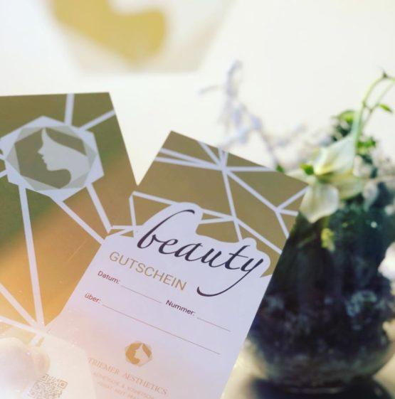 Gutschein Geschenk Beauty Kosmetik Ästhetik Triemer Aesthetics Dresden
